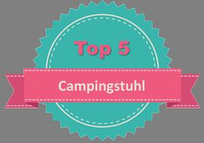 Top 5 Campingstuhl