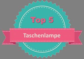 Top 5 Taschenlampe