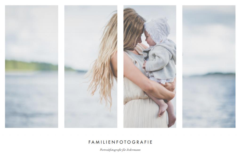 Familienfotografie - E-Book Cover